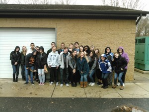 "Clearview Regional High School ""AP Environmental"" class tour Waste Water Treatment Facilities"